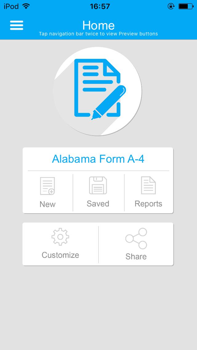 Alabama Form A-4 App