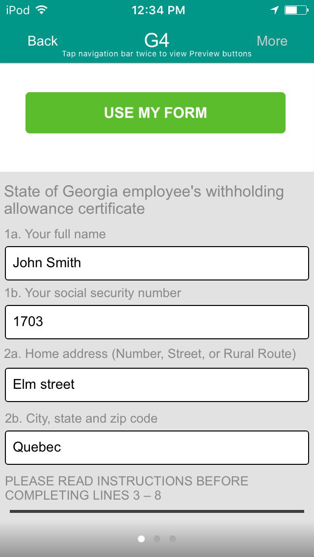 Georgia G4 App