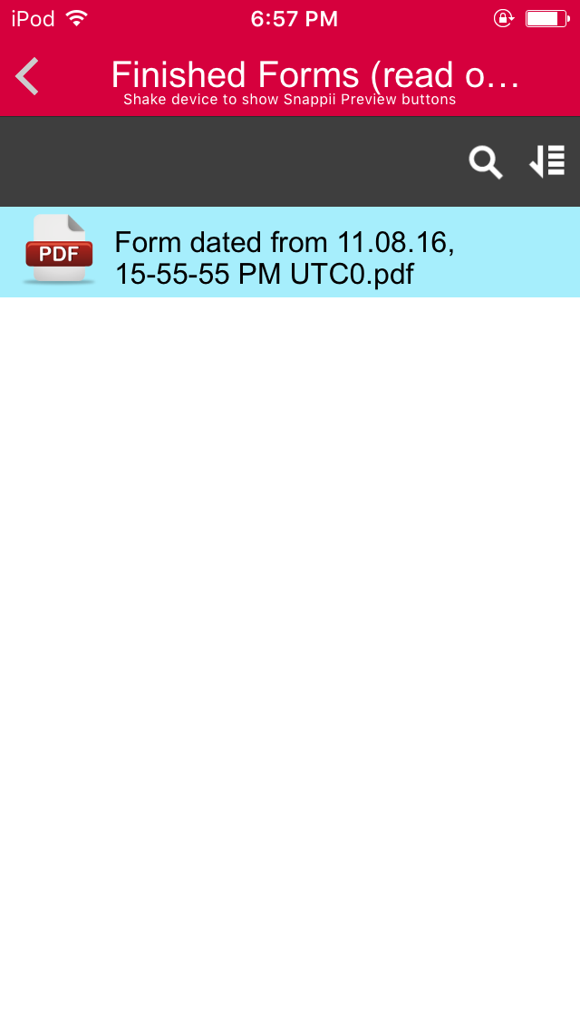 My Pdf Form Manager App